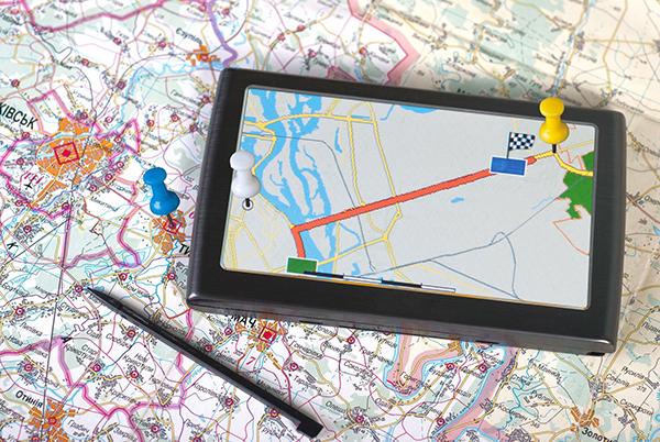 11690049 - a gps navigator and map