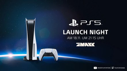 Willkommen zur PlayStation 5 Launch Night!