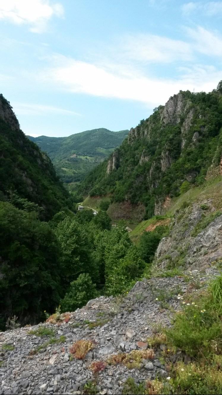 Serindere Kanyonu Yukarıdan Bakış