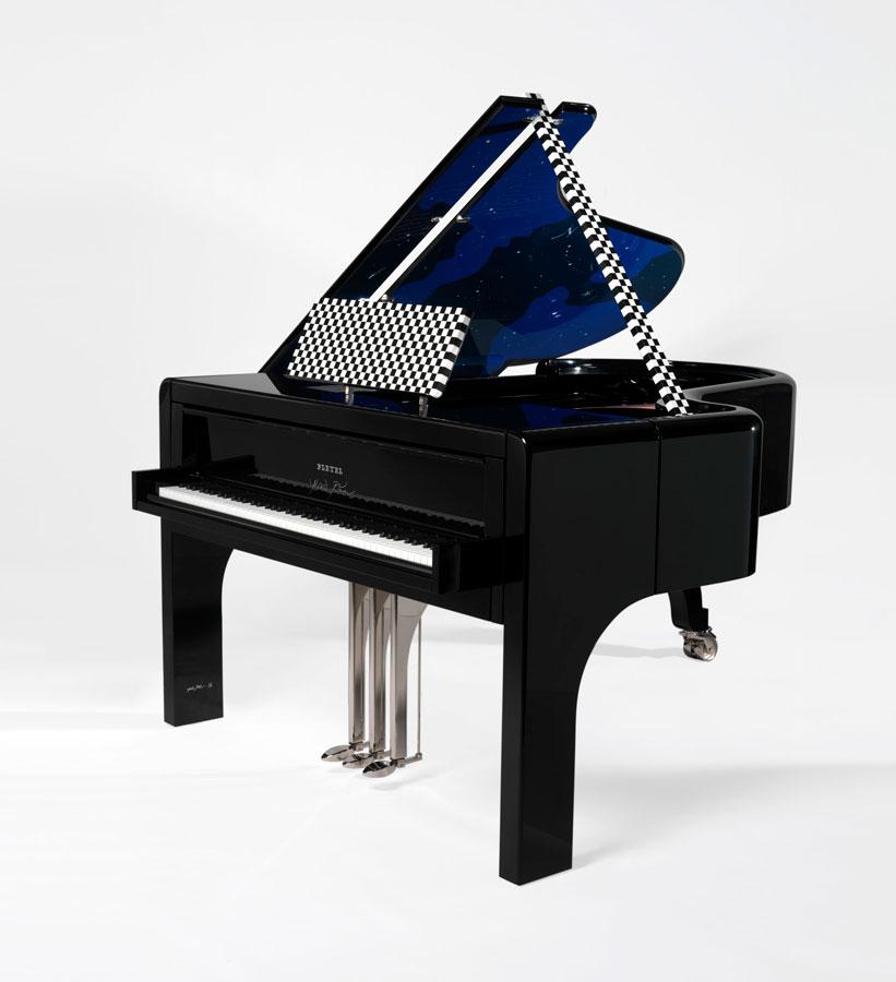 piano voie lactee pleyel andree putman