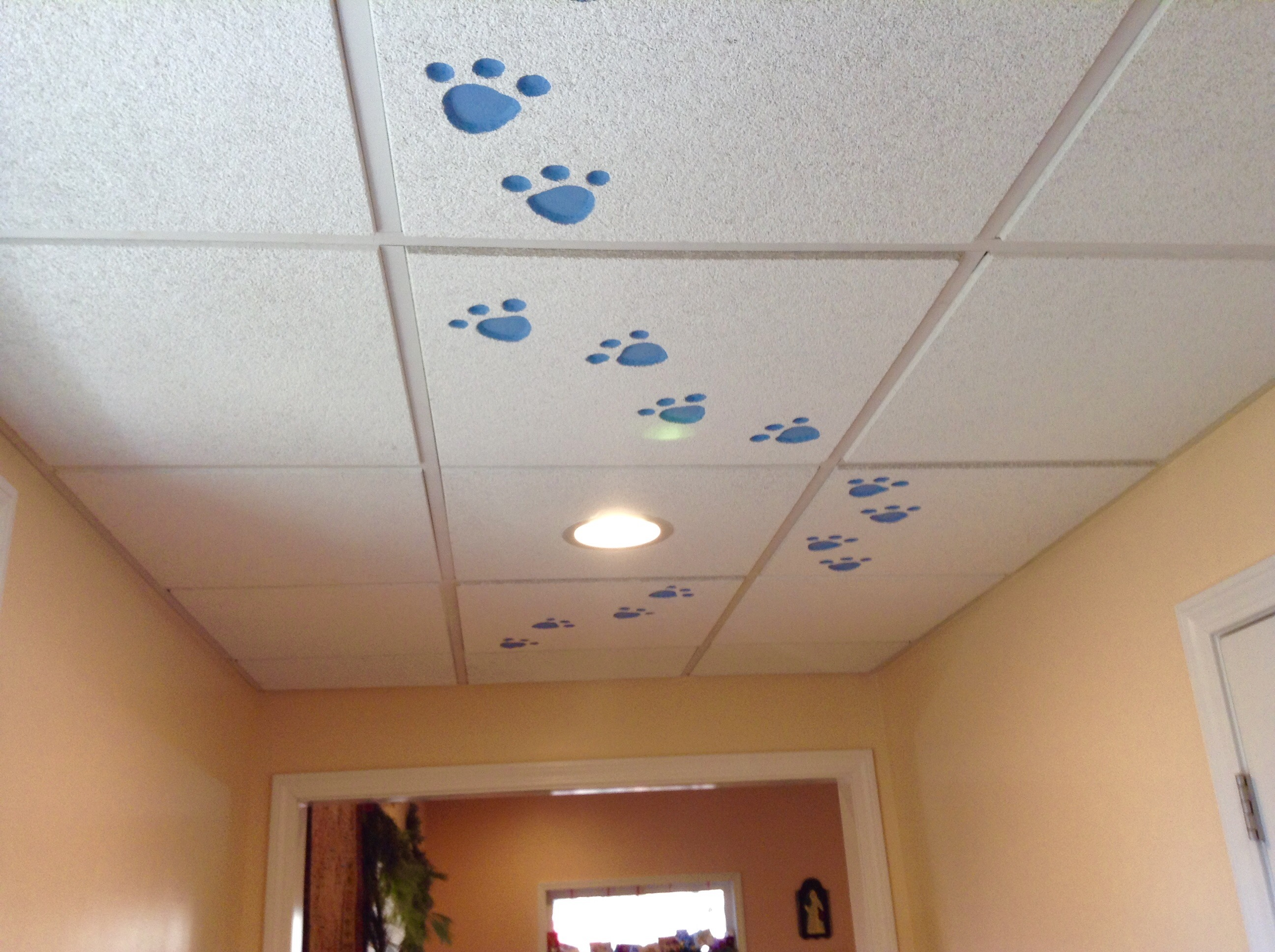 Unexpected Places To Use Ceiling Tiles
