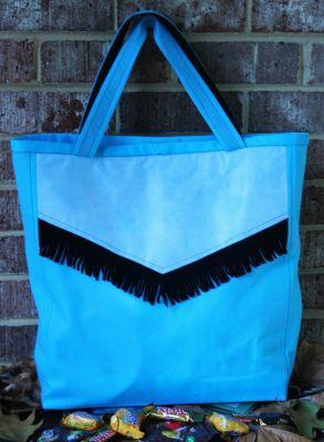 Cowboy Treat Bag Back Web