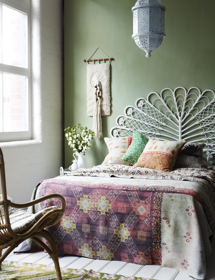 Bohemian bedrooms styled five ways - Decorator's Notebook on Boho Bedroom  id=73757
