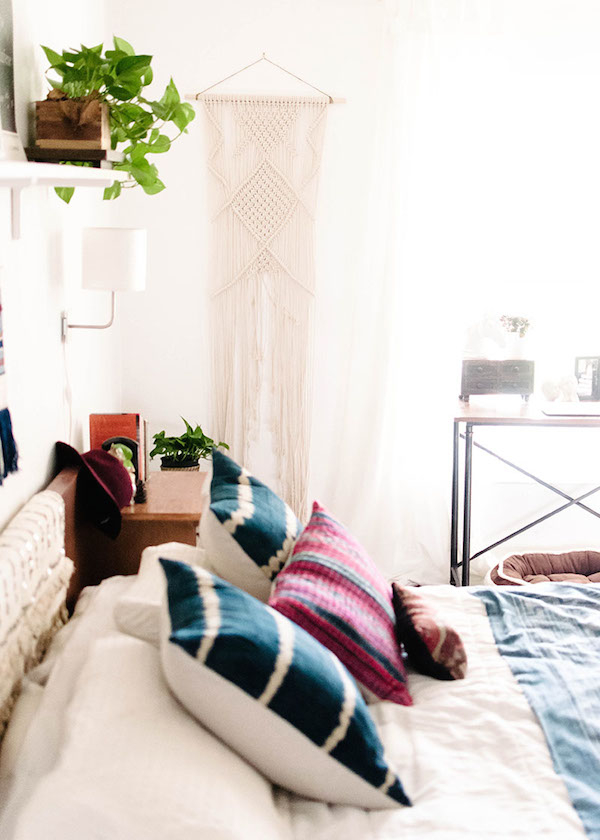 Why this bedroom is a modern bohemian masterclass ... on Modern Bohemian Bedroom Decor  id=26811