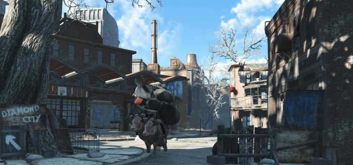 Fallout 4 mods affecting the environment's details.