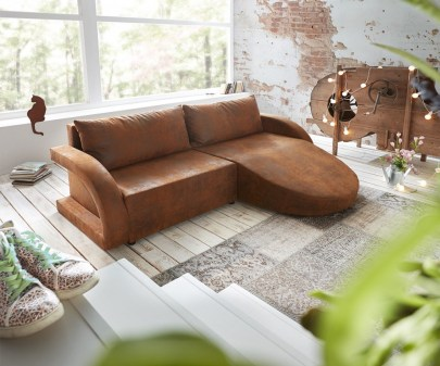 Sofa Paige in Braun