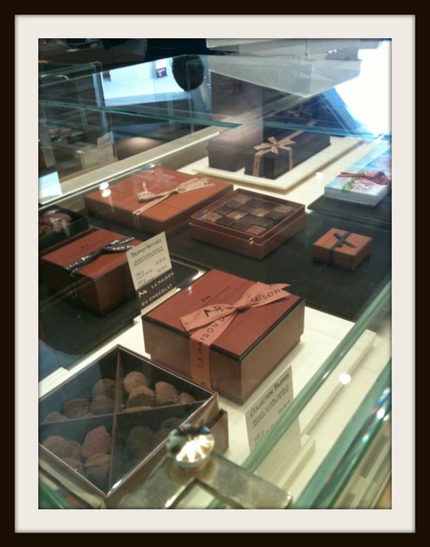 chocolate everywhere!