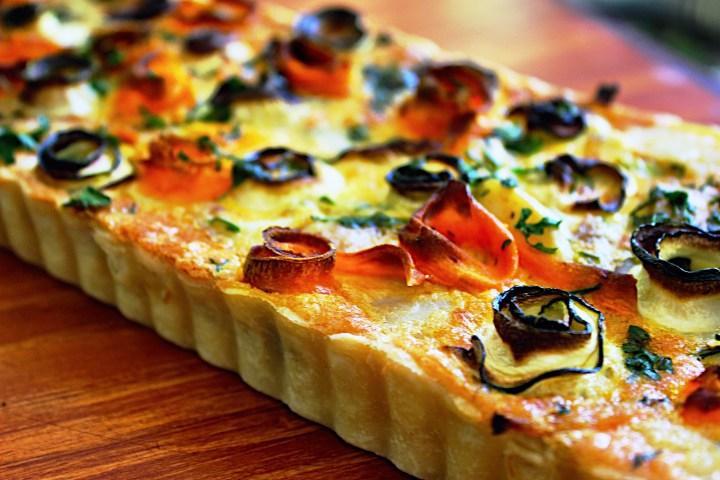 Spring Vegetable Tart 2