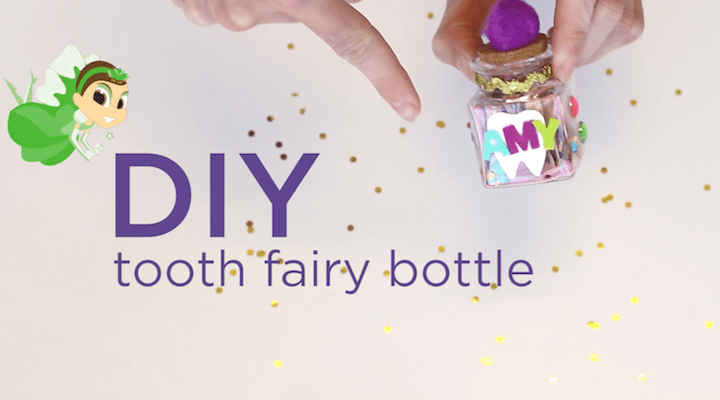 DIY: Tooth Fairy Tooth Holder