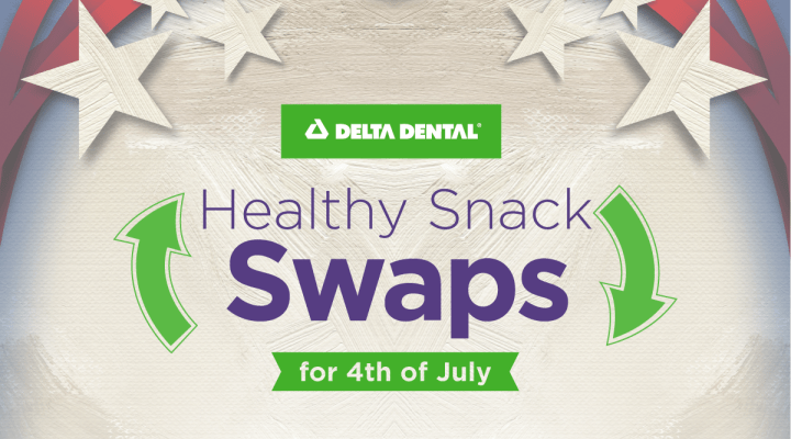 Healthy Snack Swaps for July 4th – and All Summer Long [INFOGRAPHIC]