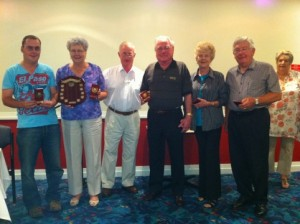 Mixed Triples Winners & Runners Up