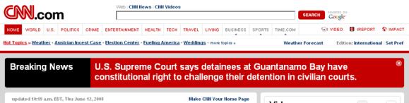 No Way from CNN