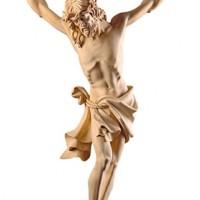 Corpo di Cristo scolpito in legno di tiglio