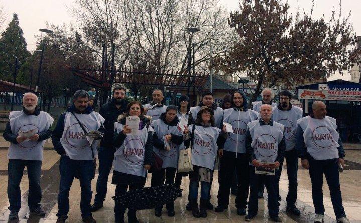 #Hayır her yerde! Ankara – Sincan