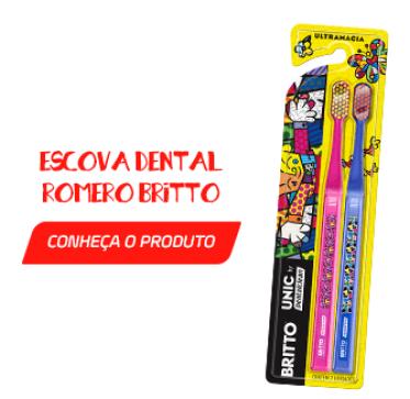 Escova Dental Romero Britto - 5 erros comuns ao escovar os dentes