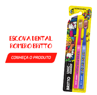 Escova Dental Romero Britto - Está na hora de trocar a escova de dentes?