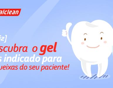 Destaque - [QUIZ] Descubra o gel mais indicado para as queixas do seu paciente!