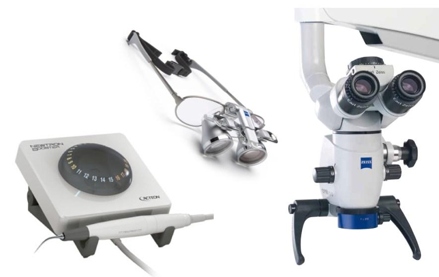 Microscópios Operatórios para identificação de canais