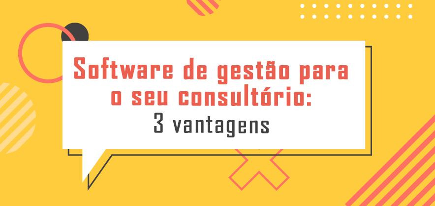 Software de gestão para o seu consultório