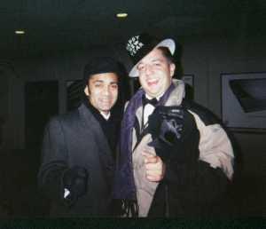 Raywat Deonandan and Neil Hrab, National Press Club, Washington DC, Jan 1 2002