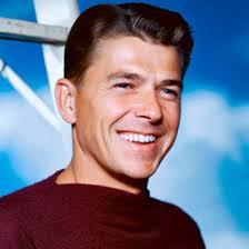 Republican saint, Ronald Reagan