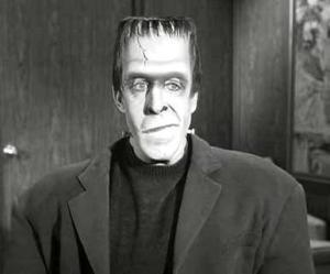 Herman Munster, representing Frankenstein