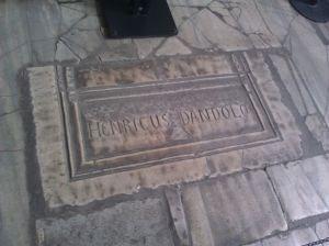 grave of Il Doge