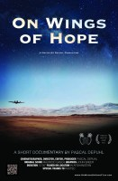 "Pascal Depuhl's award winning documentary short film ""On WIngs of Hope"" tells the story of a humanitarian flight service in Afghanistan makes a great swag item"
