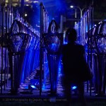 Illumene lights 100 soldiers at Art Basel