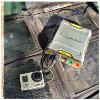 Power a GoPro all day (and longer) with a GoalZero Sherpa 50