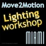 Move2Motion's workshop about video light sources