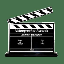 Videographer Awards clipboard 270