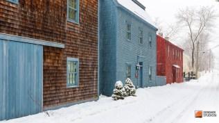2013 12 Fine NH Winter 21 - Strawberry Banke Snow