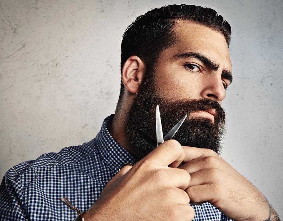 cuidados com a barba