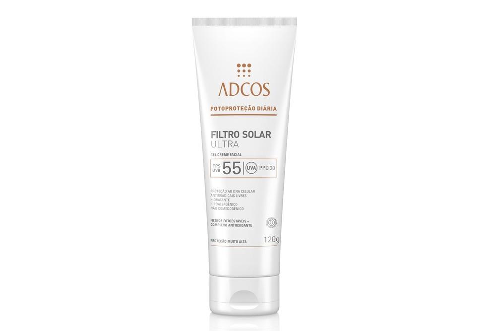 Filtro solar Adcos, essencial a porteção solar para peles com melasma
