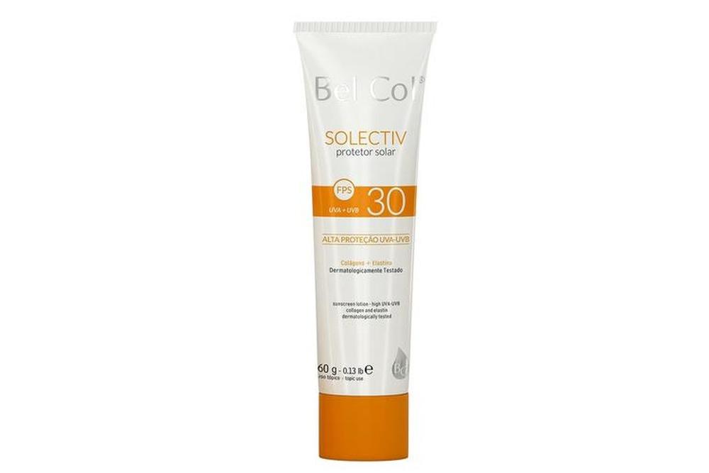 Protetor solar oil free e hidratante Bel Col bom para pele mista