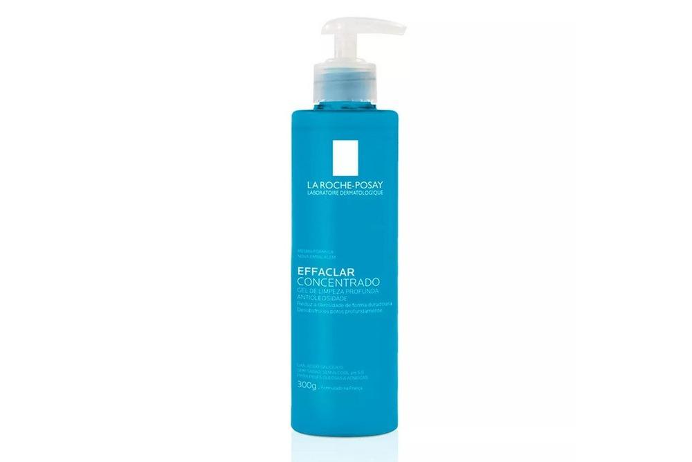 O gel de limpeza é um importante dermocosméticos para mulheres depois dos 30, esse é o Effaclar Concentrado da La Roche-Posay