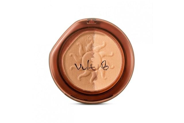 Pó e bronzer Vult para maquiagem