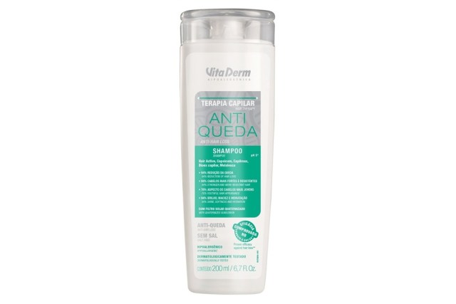 shampoo para queda de cabelo