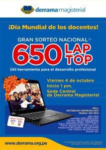 Sorteo Nacional de Laptops