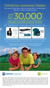 Campaña de Créditos Vacaciones 2014