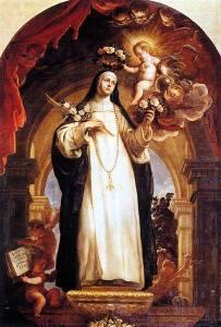 Santa Rosa de Lima - Isabel Flores de Oliva