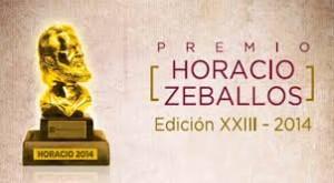 Ganadores del Premio Horacio Zeballos 2014