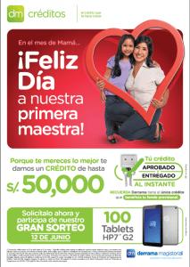 Campaña de Créditos por el Día de la Madre 2015