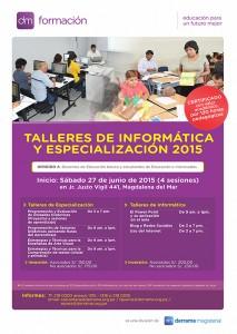 Talleres de Especialización e Informática 2015