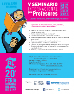 V Seminario Internacional para Profesores de la FIL Lima 2015