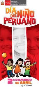 Día del Niño en el Perú