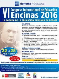 VI Congreso Internacional de Educación Encinas 2016: Expositores Internacionales