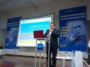 VI Congreso Internacional de Educación Encinas - Fernando Pazos
