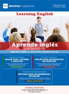 Aprende Inglés en Derrama